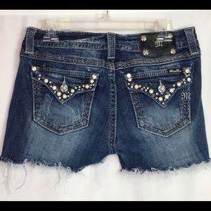 Miss Me Denim Shorts Cutoff Shorts 30